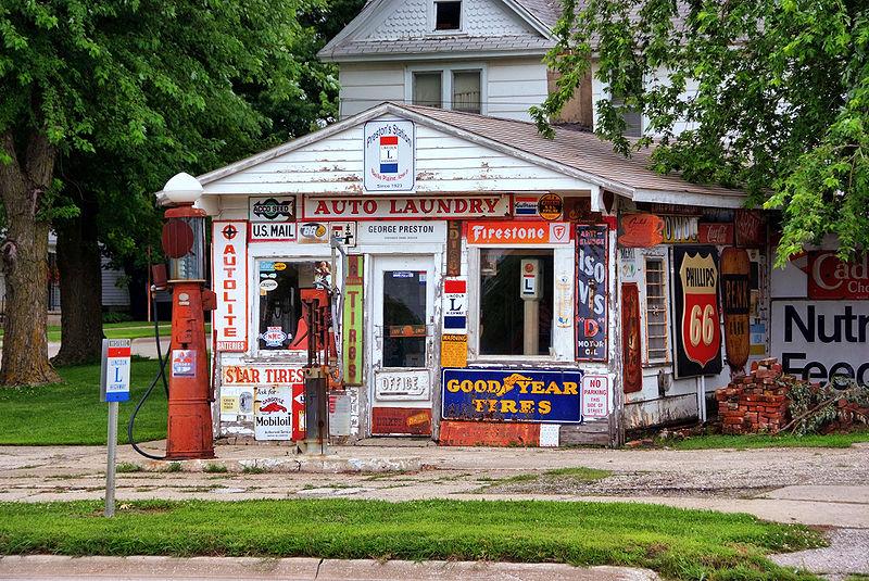 Prestons Gas Station