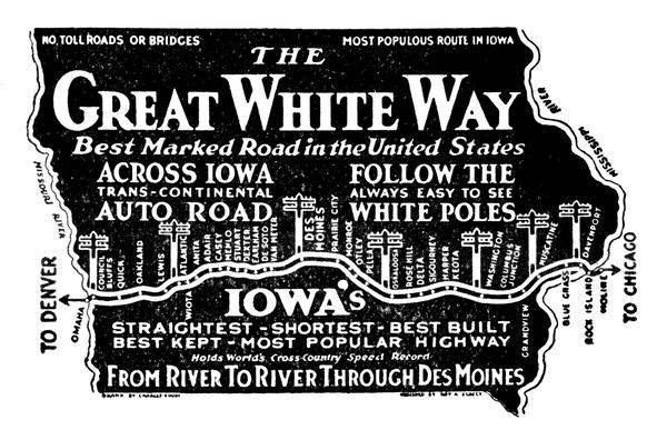 Travel the Great White Way ad